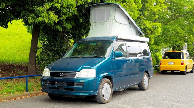 1999 Honda Stepwagon Camper Pop Top (Canada Import) Japan Auction Purchase Review