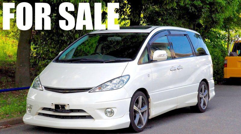 For Sale – 2001 Toyota Estima JDM Minivan